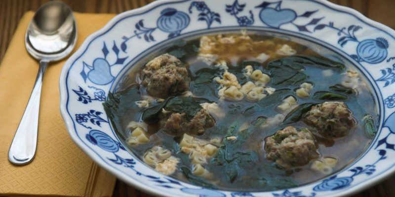 The Italian wedding soup history is unrelated to
