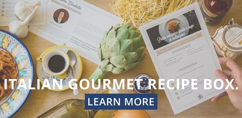 italian gourmet recipe box