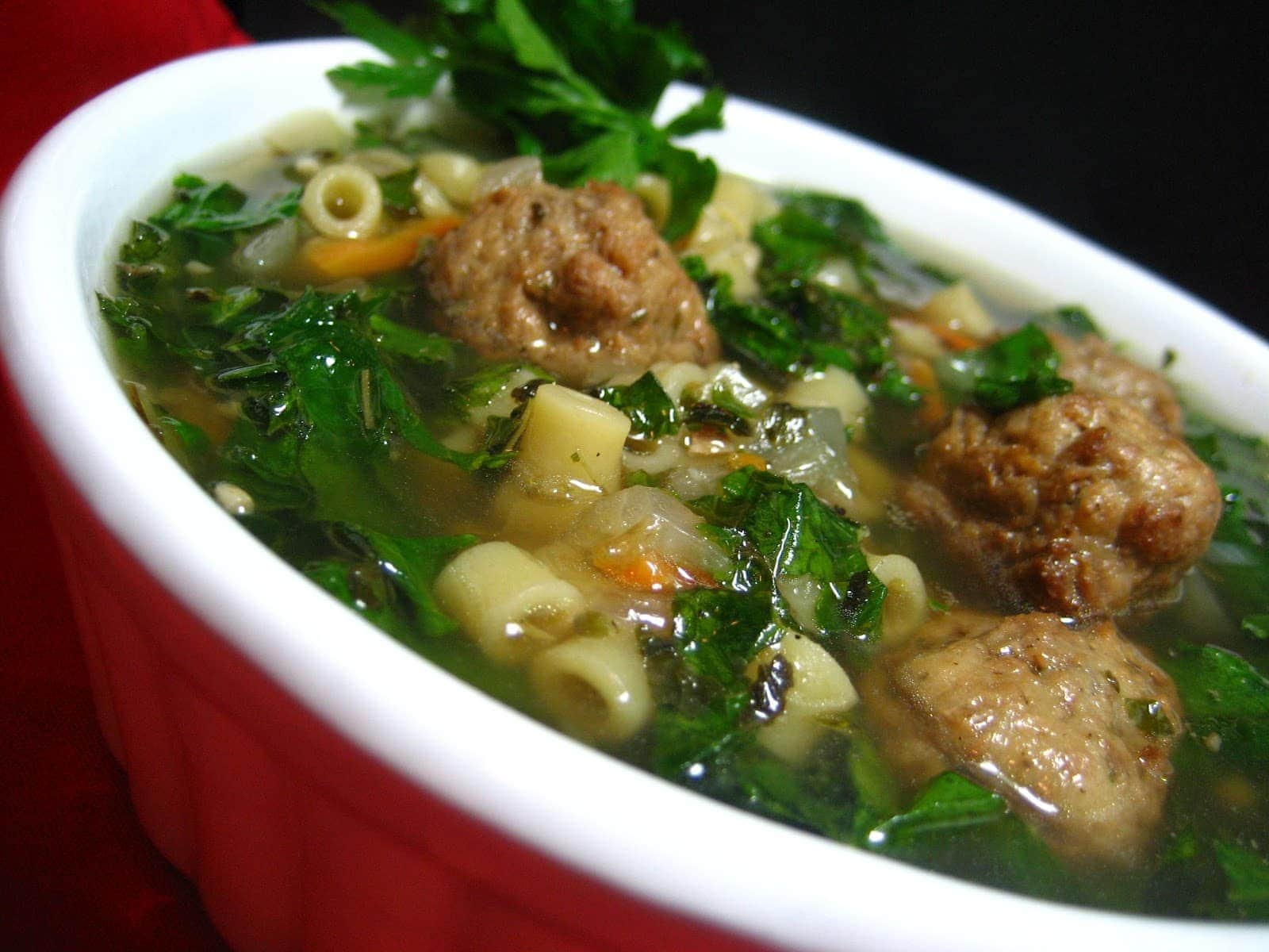 This is a simplified Authentic Italian Wedding Soup Recipe.