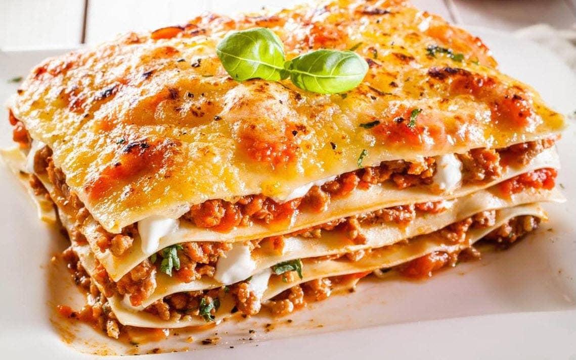 Italian Main Dishes have variety.