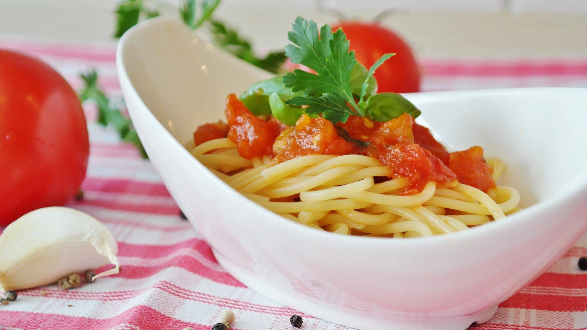 Another version of pasta al pomodoro