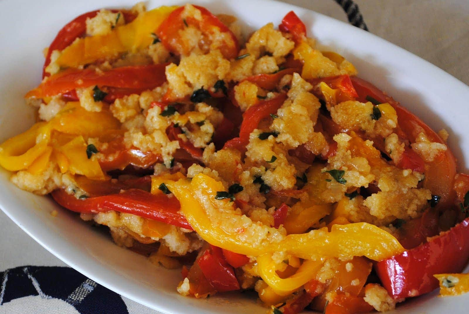 Peperoni alla Leccese Recipe – Pugliese Style Bell Peppers
