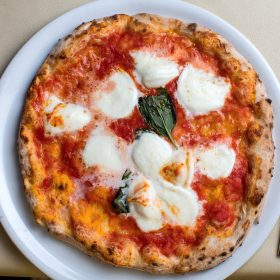 The real neapolitan Pizza Margherita