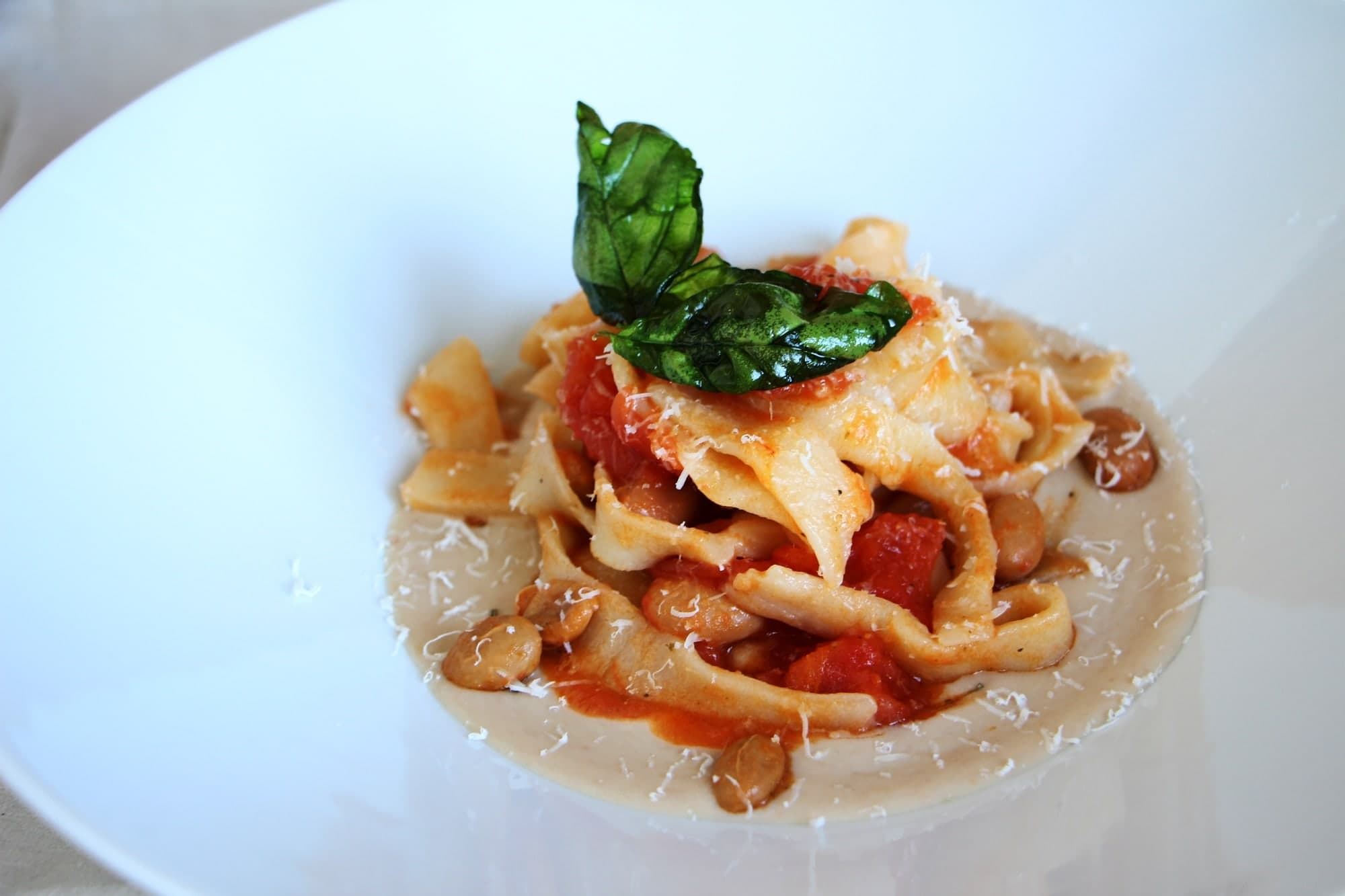 Pasta comes often when we talk about Italian main dishes.