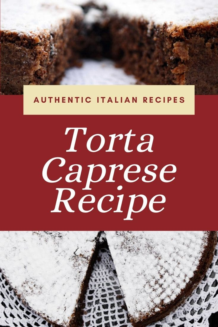 Easy Torta Caprese Recipe (Chocolate Almond Flourless Cake)
