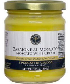 Zabaione Moscato Cream